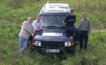 The crew at Cuckfield ROC Post