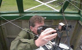 Steve Ashdown demonstrates the Post Instrument